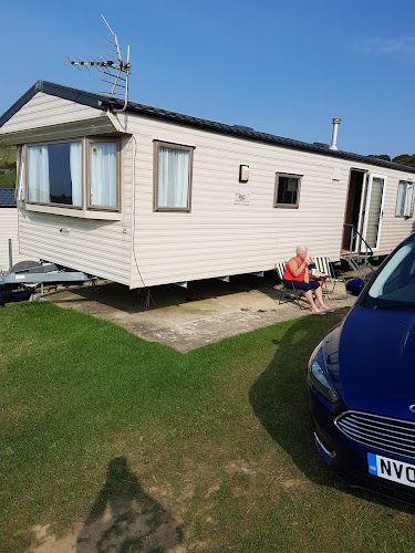 Camping  at Gorselands Caravan Park