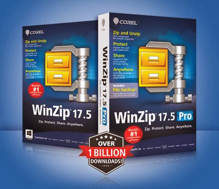 Free Download Latest Version Of WinZip Pro v.17.5 Build 10480 (32bit & 64bit) MultiLanguage With Keygen Compression & Archive Software at Alldownloads4u.Com