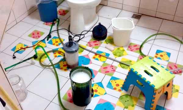 清潔水族箱進出水管的超讚小利器!