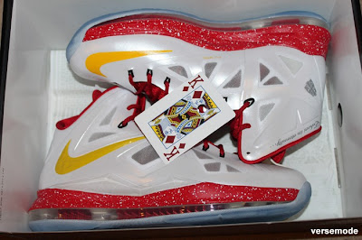 nike lebron 10 id production king of diamonds 1 05 Nike LeBron X King of Diamonds iD Built by Versemode