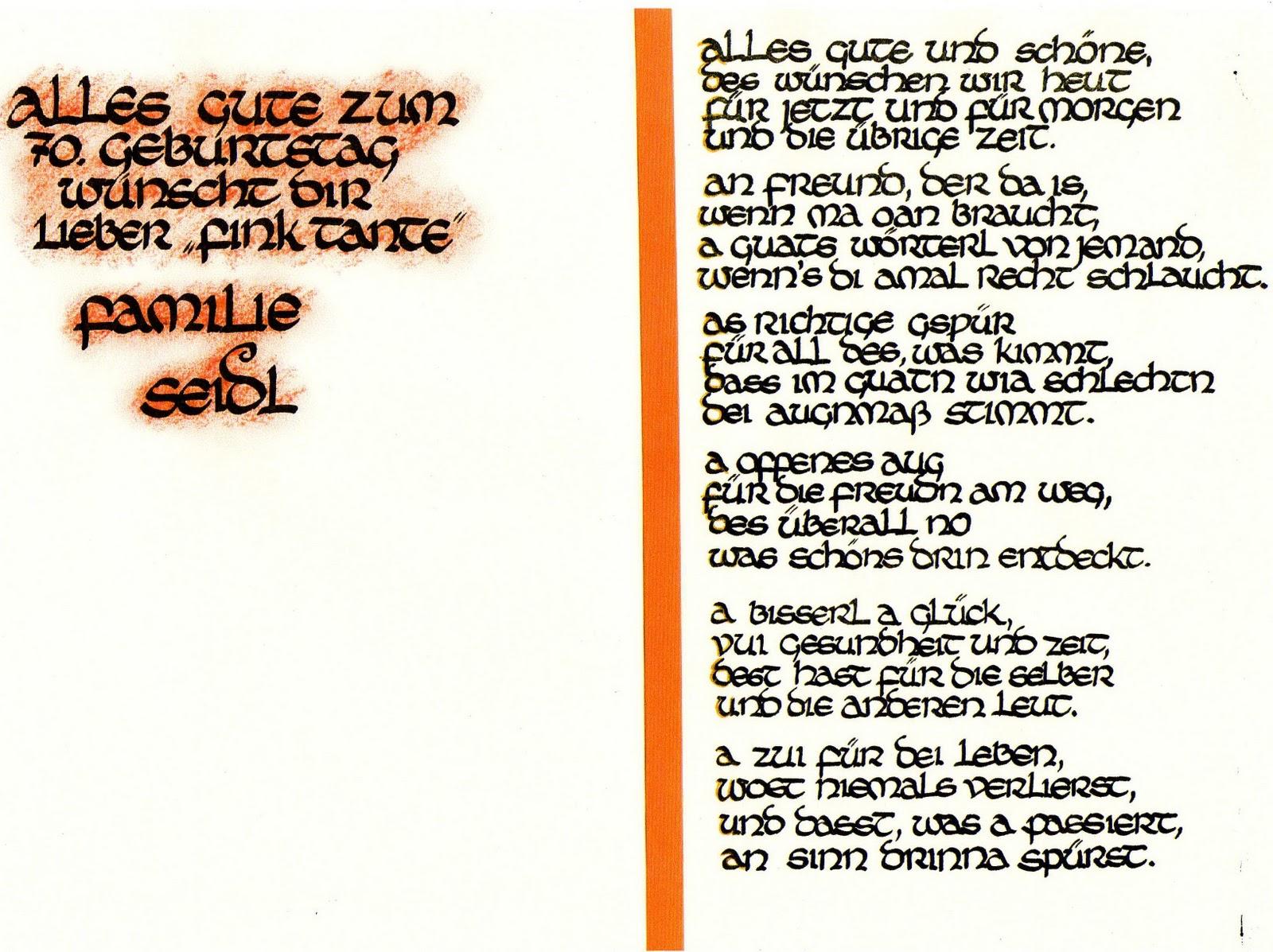 christina´s kalligraphie: geburtstagswünsche