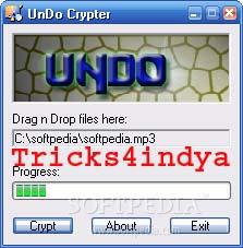 undo crypter