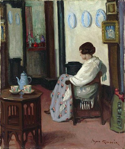 Agnes Goodsir - In a quarter Latin-studio