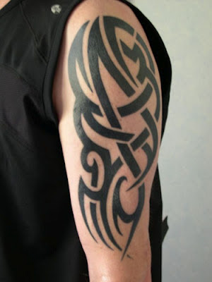 tribal tattoo ideas for arms