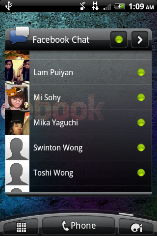 Facebook Chat 小工具