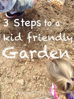 Did gardening season catch you by surprise?  Don't give up on planting a garden to enjoy with your children!