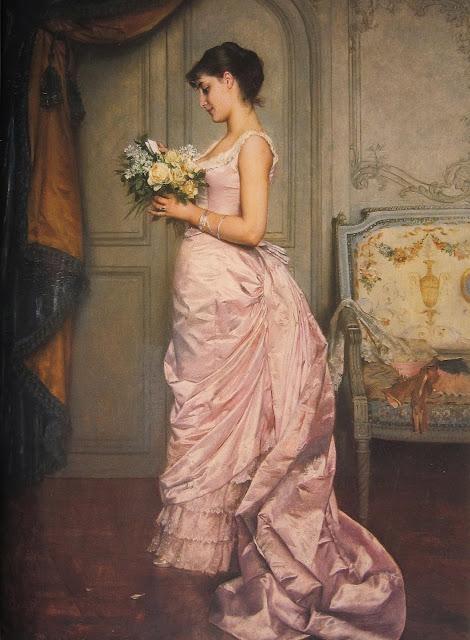 Auguste Toulmouche - Le Billet
