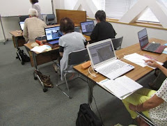 年2回の長久手市生涯学習講座(パソコン教室)