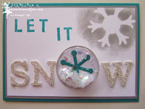 stampin up snowflakes schneeflocken sketched alphabet