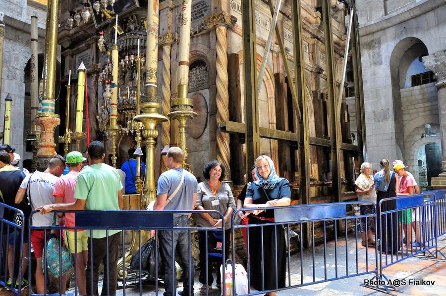 Гроб Господень, Храм Гроба Господня. Экскурсия по Иерусалиму. Гид в Израиле Светлана Фиалкова.