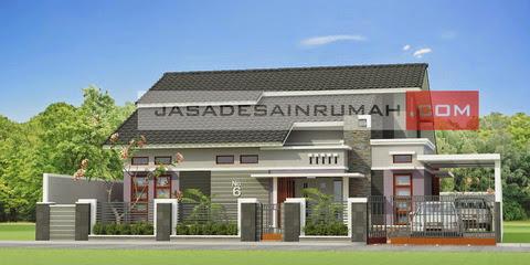 Rumah Simple Modern di Samarinda