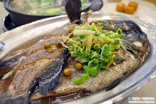 花壇公雞餐廳清蒸石斑魚