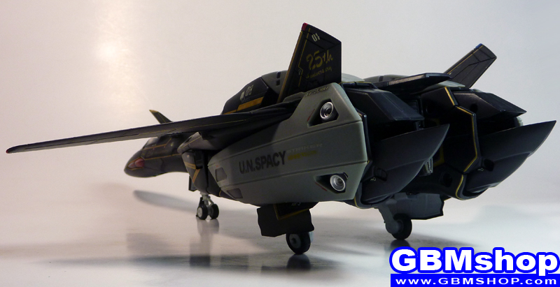 Macross VF-X VF-19A Super Black Excalibur Fighter Mode