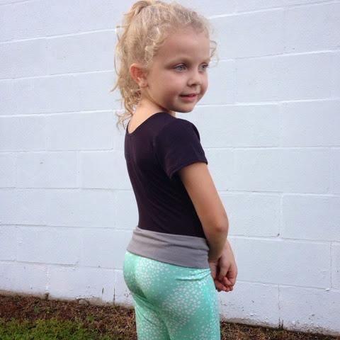 Yoga Pants For Tweens Yoga Pant by Greenstyle