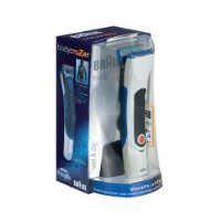 Braun Wet and Dry BodyCruzer Rechargeable Trimmer  Model B55 WHITE