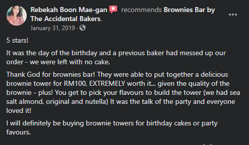 best brownies in kl