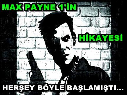 Max Payne 1 Oyununun Hikayesi