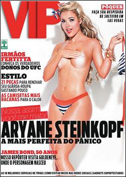 Revista VIP - Aryane Steinkopf – Fevereiro 2012