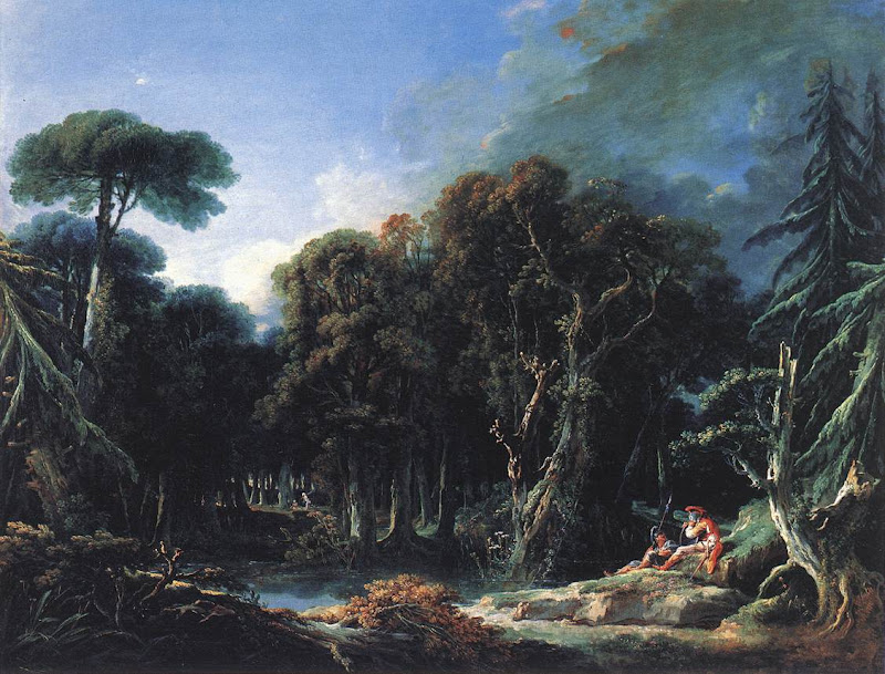 Francois Boucher - The Forest