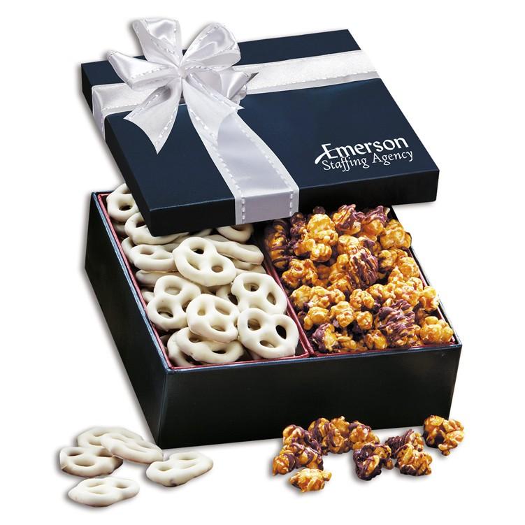 Pretzel & Popcorn Gift Box