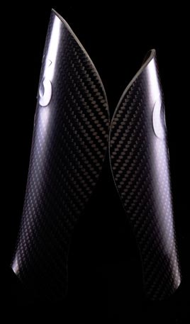 C6 Agility Carbon Fiber Shin Guard Tall