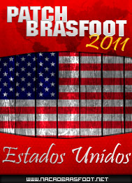 Patch Estados Unidos 2011 - Brasfoot 2011