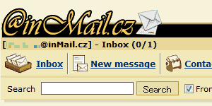 inMail.cz - 微妙にグラフィックが違いますw