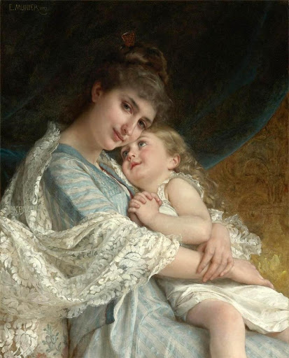 Émile Munier - A Tender Embrace