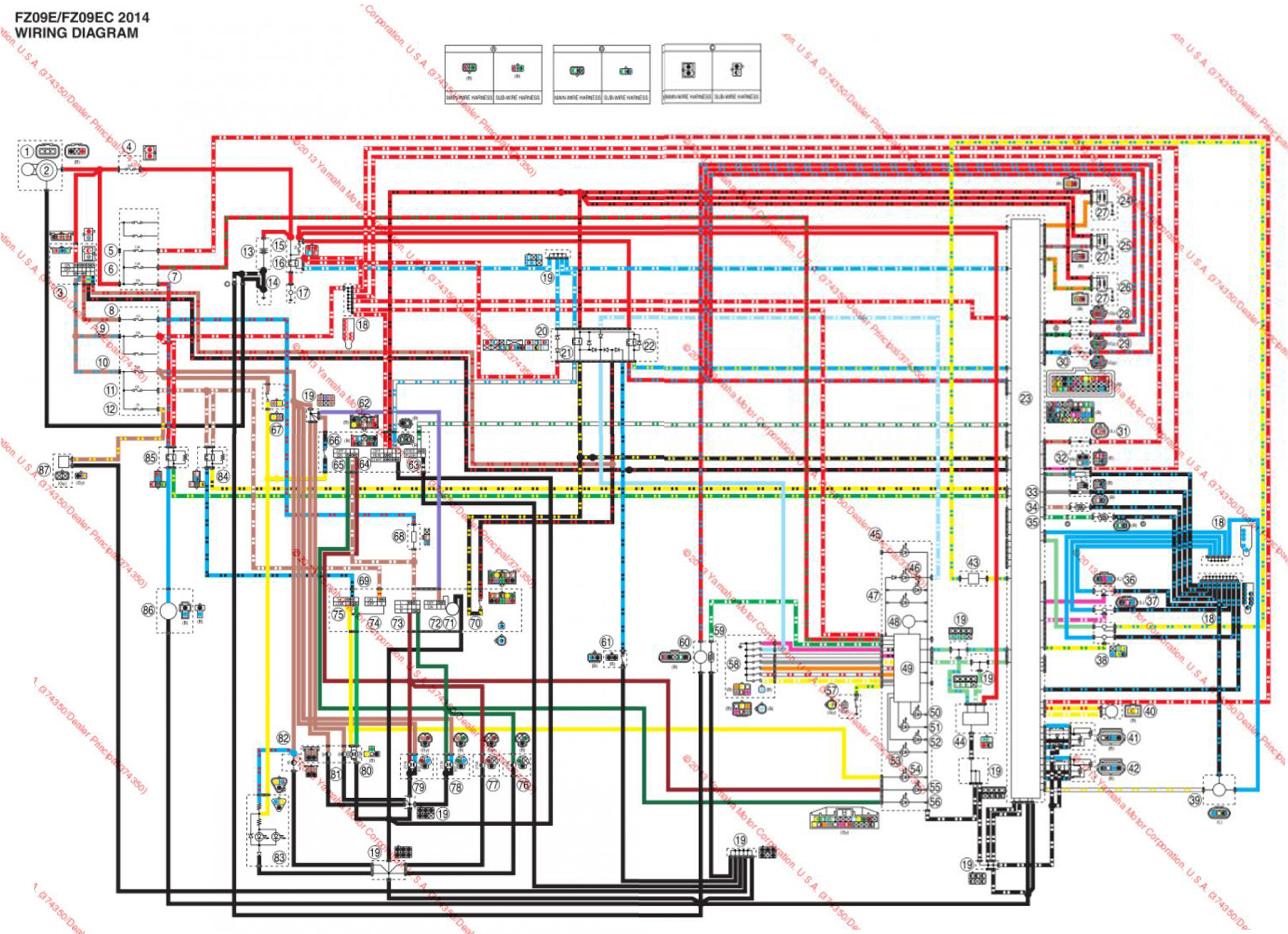 Wiring Diagram On 97 Cbr 600 Building 2004 Ninja Schematic Anyone Have A Honda Cbr600rr