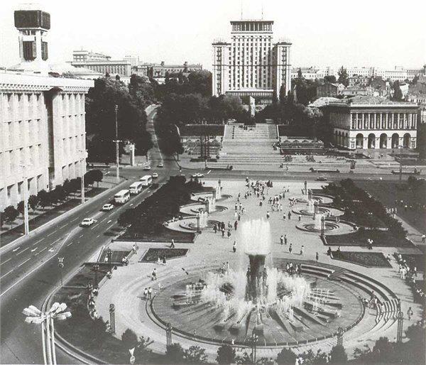 Майдан Незалежности 1982 год