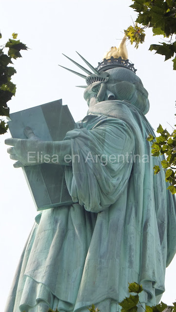 Estatua de la Libertad, Lady Liberty, Liberty Island, New York, Elisa N, Blog de Viajes, Lifestyle, Travel