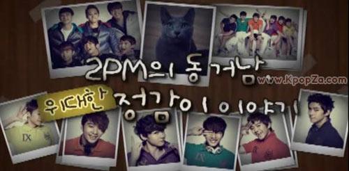 แมวเล่าเรื่องราวของ 2PM ในรายการ 'Real 2PM'