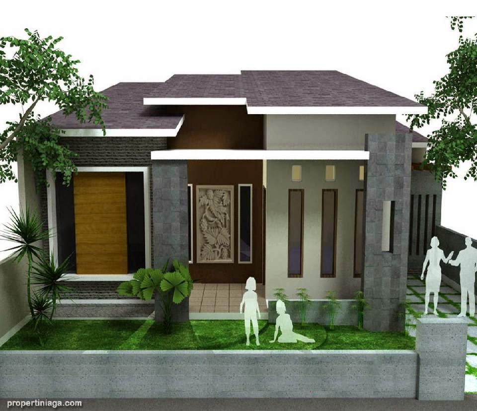 contoh desain rumah modern minimalis gallery taman minimalis
