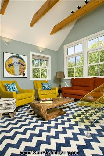 Thi công nội thất gỗ: Trang trí nhà từ đơn giản đến cá tính với gam màu vàng-4