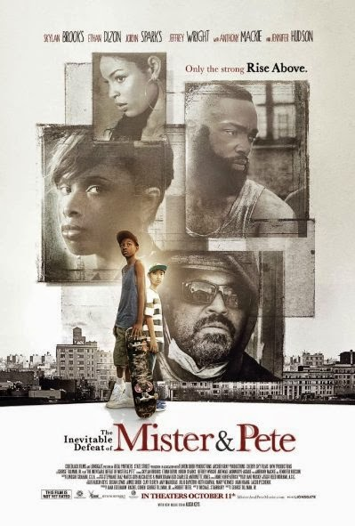 Poster Of English Movie The Inevitable Defeat of Mister and Pete (2013) Free Download Full New Hollywood Movie Watch Online At alldownloads4u.com