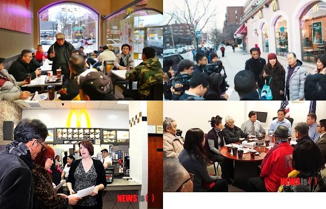 マクドナルドに居座り行為していた韓国人が被害者面でマクドナルドから謝罪と見返りを得る