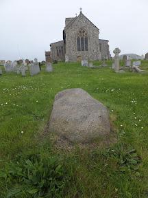Farmer Reynolds Stone in All Saints Churchyard, Beeston