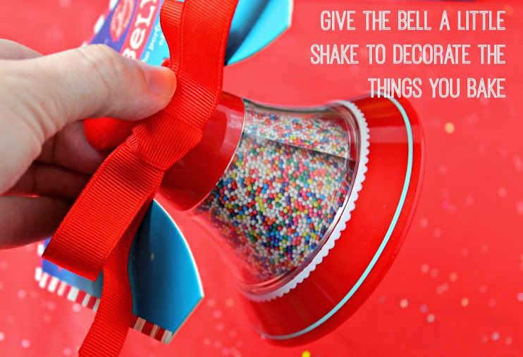 Hallmark Northpole Sprinkle Bell Decorating Tool