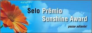 Prémio Sunshine Award  miminho da amiga Sandra