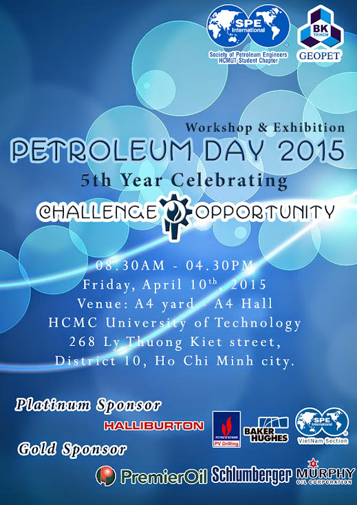 PETROLEUM DAY 2015 - CHALLENGE AND OPPORTUNITY Poster