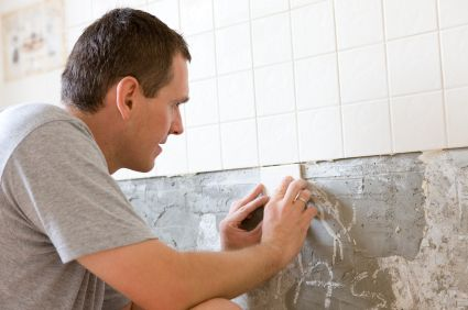 Como poner azulejos de cocina o ba o aprender hacer - Pintura para baldosas de cocina ...