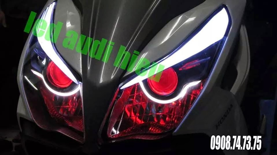 mắt quỷ airblade 125CC