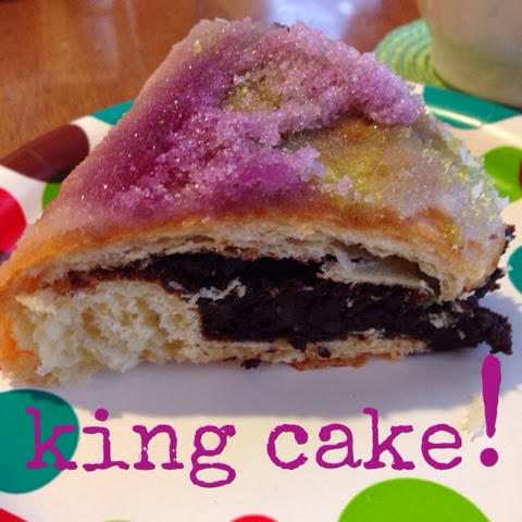 chocolate king cake