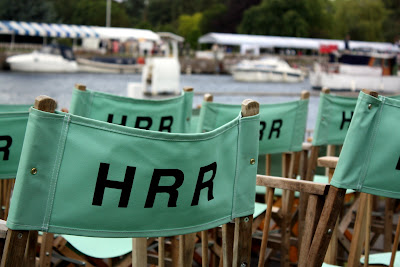 Chairs at the Henley Royal Regatta