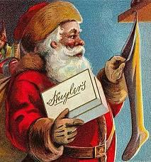 Открытка Санта-Клаус