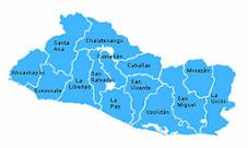 Abreviatura de El Salvador y sus departamentos