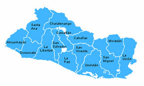 Gentilicios de los departamentos de El Salvador