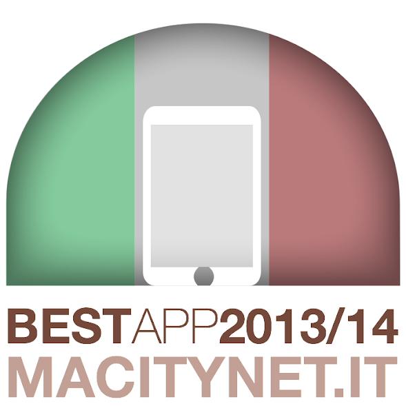 Migliore App italiana nella categoria Produttività - Agenda dell'Avvocato premiata da Macitynet.it