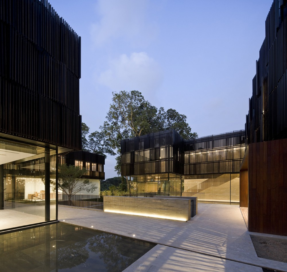 Cluny House design by  Neri & Hu Design and Reserch Office