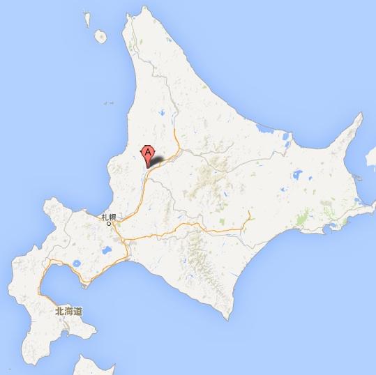 大黒屋菓子舗・地図